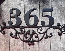 address sign etsy