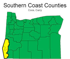 Oregon Beaches Map by Oregon U0027s Southern Coast Oregon Office Of Economic Analysis