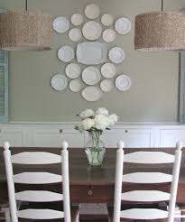 china plate display kitchen eclectic with neutral decor metal
