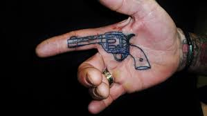 100 small gun tattoo pin by submissivenes on tattoo wrist