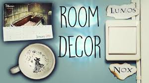 diy harry potter room decorations 2 youtube