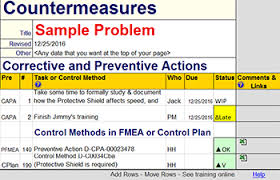 Root Cause Analysis Excel Template Root Cause Analysis Template