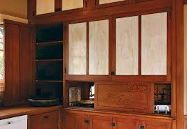 Painting Kitchen Cabinet Doors Only The Existing Built In Pantry Was Fitted With New Cabinet Doors