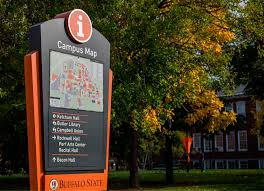 Cleveland State Campus Map by Buffalo State University Wayfinding
