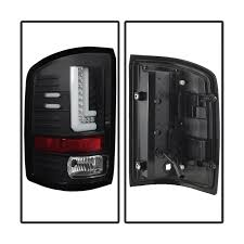 2005 gmc sierra tail lights spyder black led tail lights 2016 2017 gmc sierra w factory led