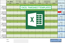 Excel Timesheet Template With Formulas Excel Timesheet Formulas To Create An Easy To Use Timesheet Template