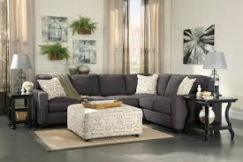 charcoal gray sectional sofa with chaise lounge furniture create the ultimate space with dazzling ashley