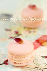 dailydelicious macaron à la rose my life is sweet