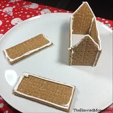 Cracker House How To Make A Graham Cracker Holiday House Peepsholiday The