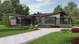 Midcentury Modern House - 4 home plans with the midcentury modern look