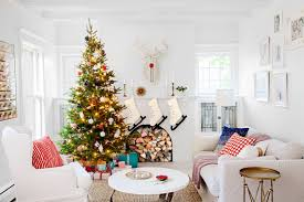 Outdated Home Decor by Jennaea Gearhart White Tudor Home White Christmas Decorating Ideas