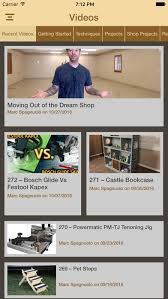 Woodworking Shows On Tv by Woodworking With The Wood Whisperer Premium On The App Store