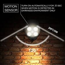 driveway motion sensor light motion sensor light sunvie 600 lumen motion detector ip65