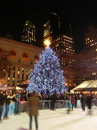 the christmas tree in new york city christmas lights decoration