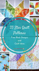 Ideas Design For Colorful Quilts Concept 25 Unique Star Quilt Patterns Ideas On Pinterest Quilt Block