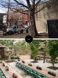 Urban Gardening Philadelphia - before u0026 after south street philadelphia pop up garden on design