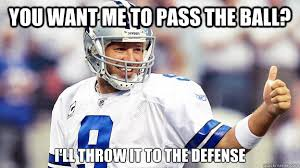 Tony Romo Interception Meme - validity and reliability sparks research
