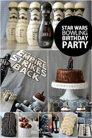 wars birthday party ideas the empire strikes back a boy s wars bowling birthday party