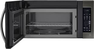 Microwave Toaster Combo Lg Lg Lmv2031bd 2 0 Cu Ft Over The Range Microwave Oven With