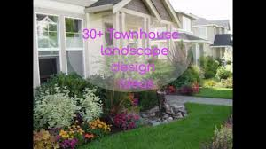 Townhouse Backyard Design Ideas Lawn And Trellis Fence In Back Garden Of Townhouse With Small Pics