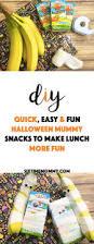 quick easy u0026 fun halloween mummy snacks to make lunch more fun