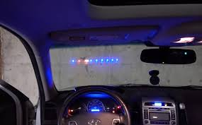 an led strip heads up display hud for your car u2013 hackster u0027s blog