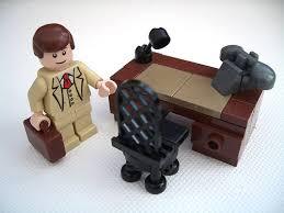 lego office lego techniques build a lego desk in minifig scale bricksabillion