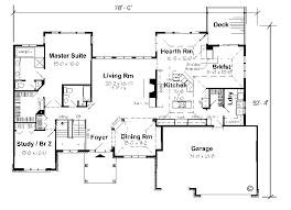 ranch home floor plan 59 ranch home floor plans with walkout basement one floor