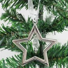 compare prices on silver star ornaments online shopping buy low