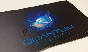 Event Business Cards Business Card Quantum Events U2013 Fiona Learned