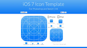 ios 7 app icon template for sketch ios mac osx resource