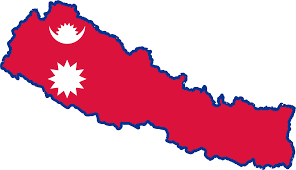 Pics Of Nepal Flag Clipart Nepal Map Flag