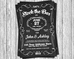 stock the bar party stock the bar invitation engagement party invitations whiskey
