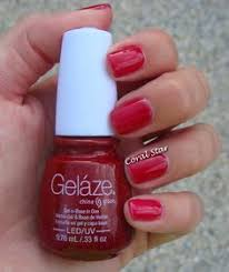 gelaze by china glaze ruby pumps nine inch nails pinterest