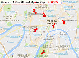 Moscow Map City Street Guides By F D Walker A Street Photography Guide To