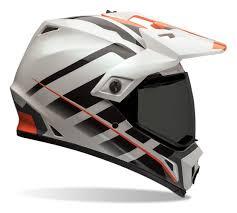 motocross helmet with visor bell mx 9 adventure raid helmet revzilla