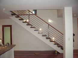 stainless steel banister rails stainless steel stair balusters modern stairs metal wood railing
