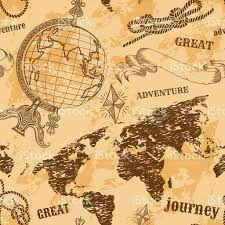 map pattern seamless pattern with vintage globe abstract map knots
