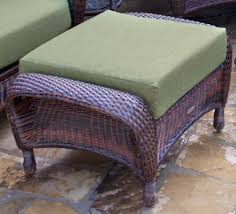 tortuga outdoor lexington wicker ottoman wicker com