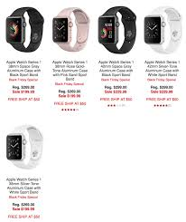 target black friday week sale calendar apple watch series 1 is now available from 198 shipped ahead of