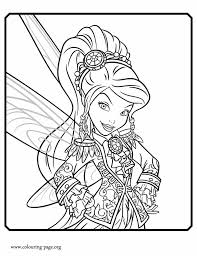 pirate fairy vidia tinker fairy coloring