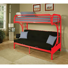 dhp twin over twin metal bunk bed 3135096 the home depot