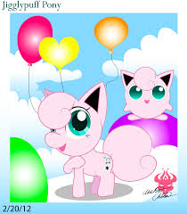 jigglypuff in mlp style by bowser2queen on deviantart