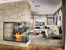 unique modern simple interesting modern fireplace trend for small