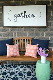 Diy Home Decor Signs by Front Porch Decorating Porch Decorating Diy Wood Signs And Diy Wood