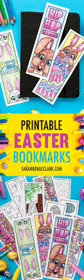 printable easter bookmarks to colour easter coloring bookmarks easter printables bookmarks and easter