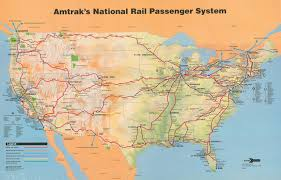 Amtrak Map New York by Map Of Amtrak Routes My Blog