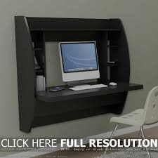 Pine Home Office Furniture by Wall Mounted White Pine Wood Laptop Desk Which Mixed With For Wall