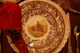 thanksgiving dinner table settings thanksgiving tablescape table setting with a woodland wildlife theme
