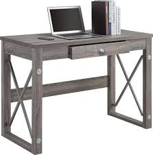 Office Desk At Walmart Writing Desk With Metal Accents Walmart Ca S Room Ideas
